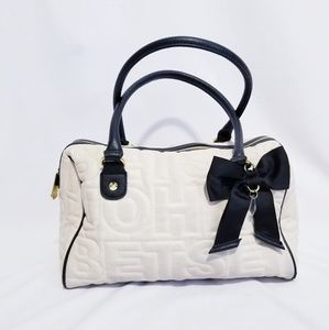 Betsey Johnson Purse Satchel Handbag